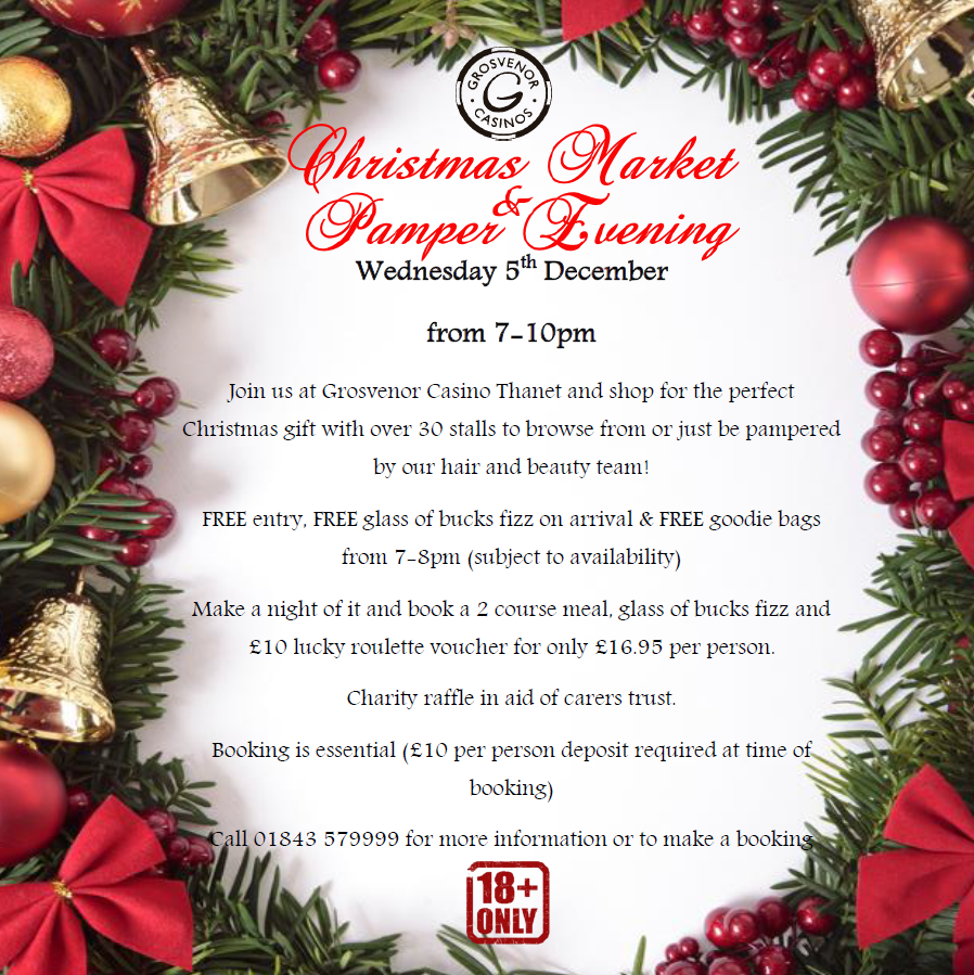 Christmas Market and Pamper Evening | Westwood Cross Shopping Centre