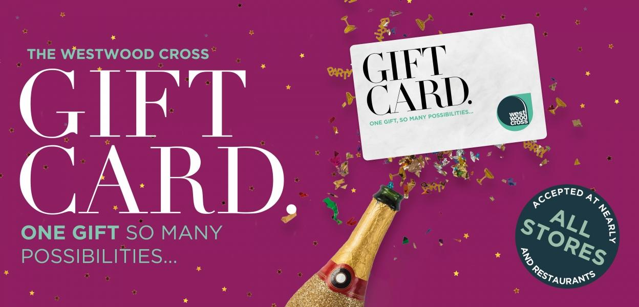 Westwood Cross gift card