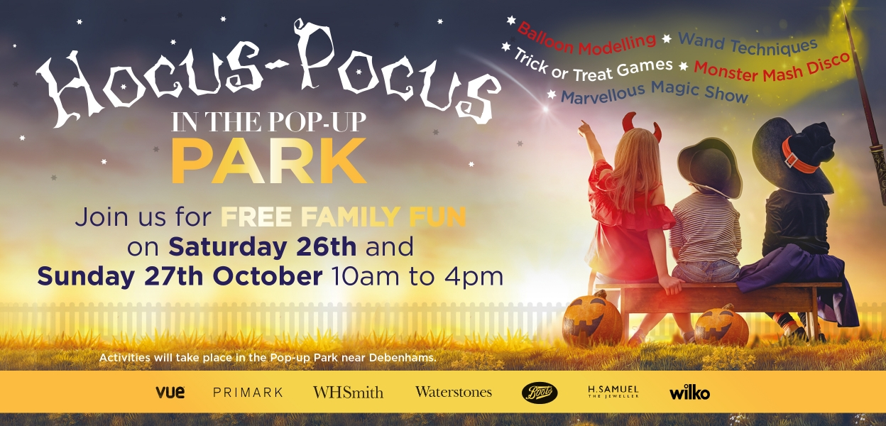 Hocus-Pocus Halloween fun at Westwood Cross THANET