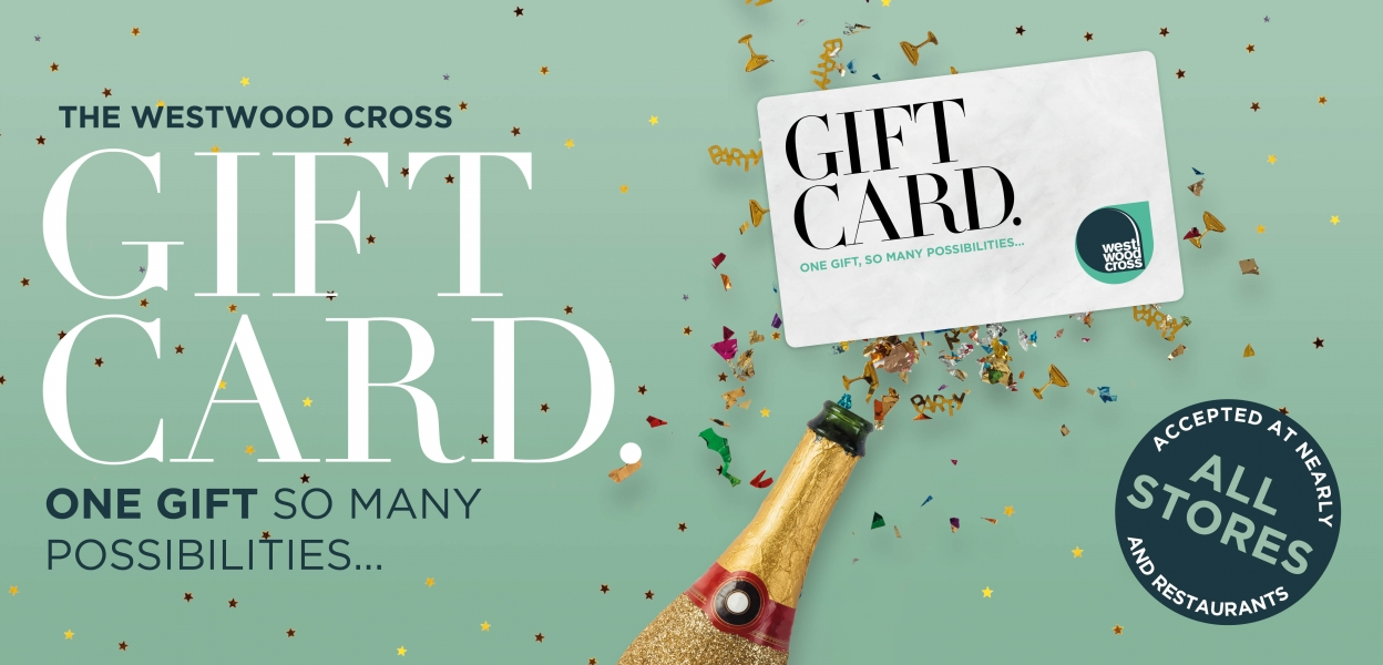 Westwood Cross gift card present idea THanet