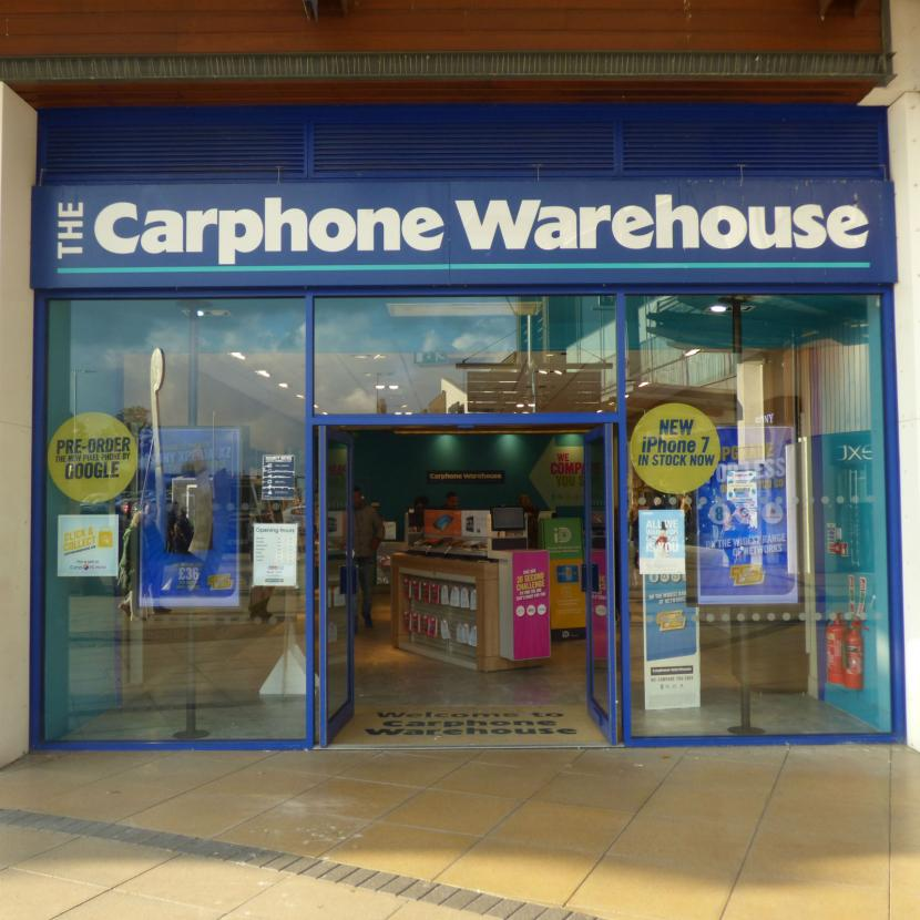 Carphone Warehouse Westwood Cross Broadstairs Kent
