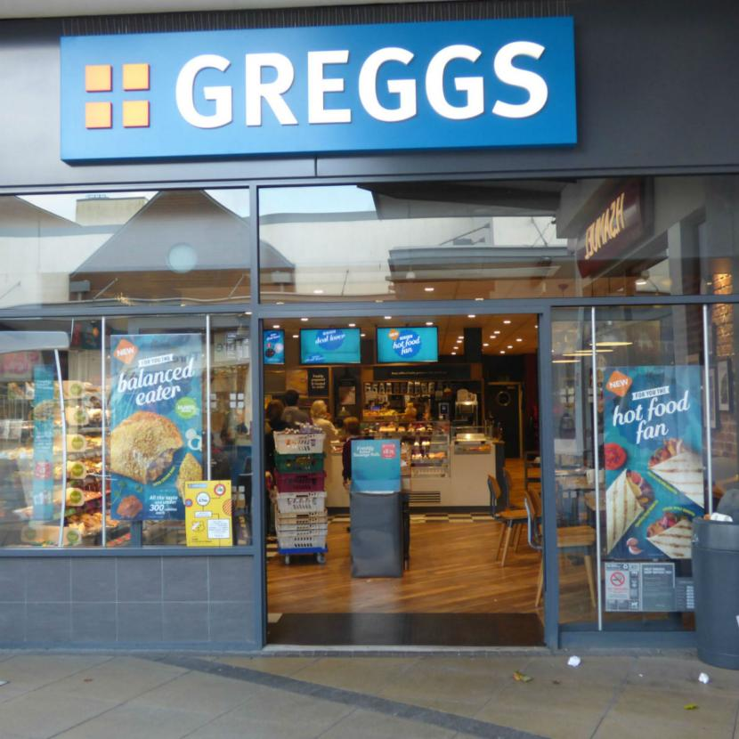 Greggs Westwood Cross Broadstairs Kent