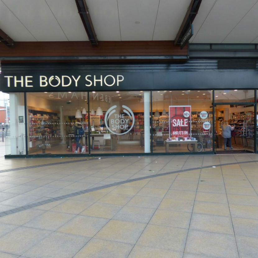 The Body Shop Westwood Cross Broadstairs Kent