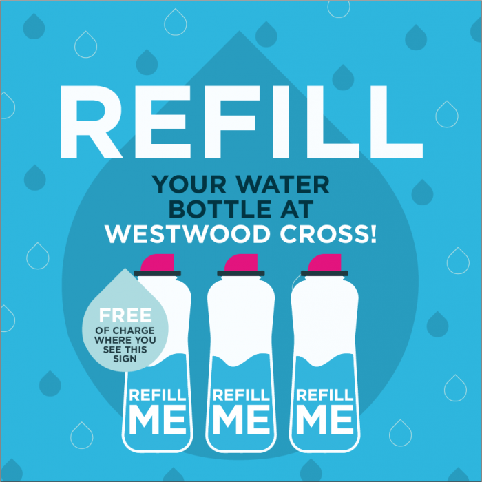 Refill Me scheme at Westwood Cross