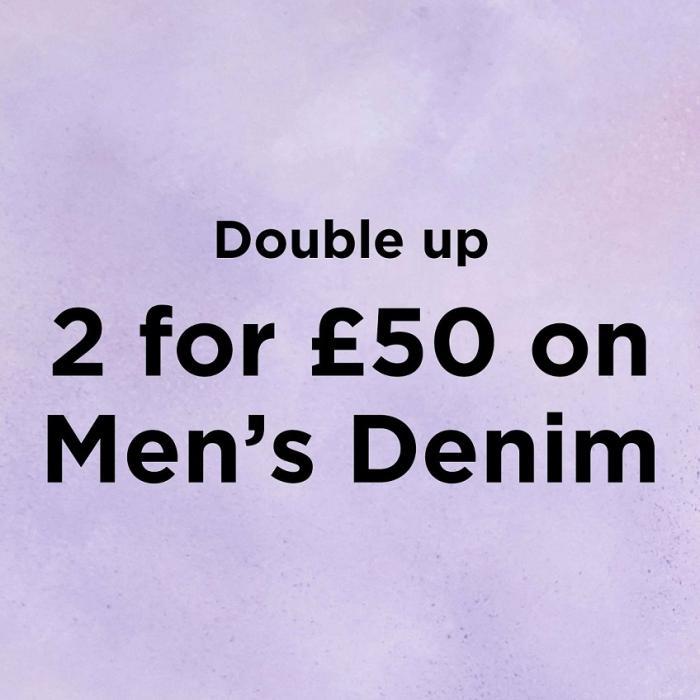 River Island Offer 2 for £50 on_Men's Denim