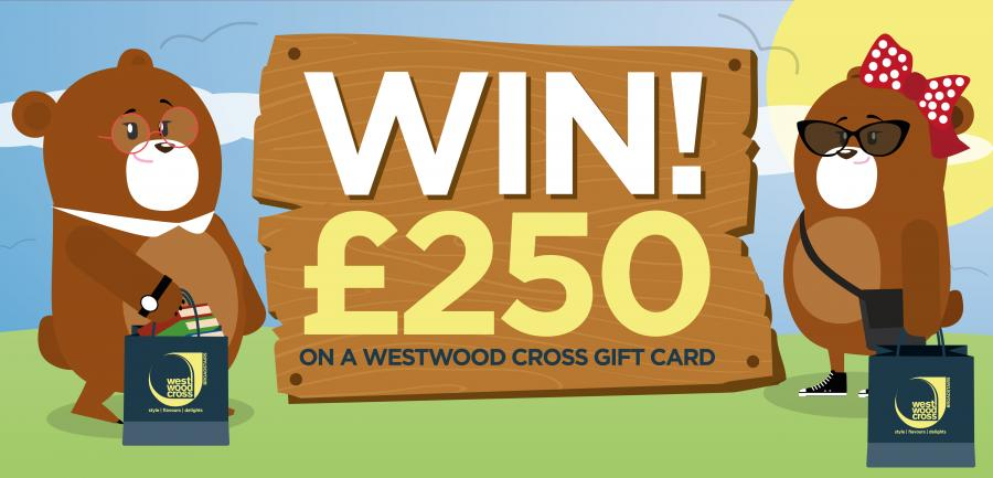 Competition win £250 Westwood Cross Thanet Kent
