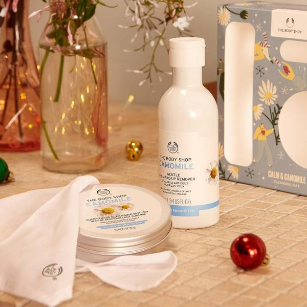 Camomile Body Shop gift set
