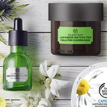 Vegan beauty products The Body Shop