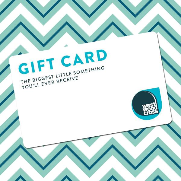 gift card on chevrons